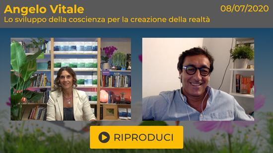 """Webinar Gratuito """"Lo sviluppo della coscienza per la creazione della realtà"""" con Angelo Vitale"""
