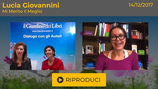 """Webinar Gratuito: """"Mi Merito il Meglio"""" con Lucia Giovannini"""
