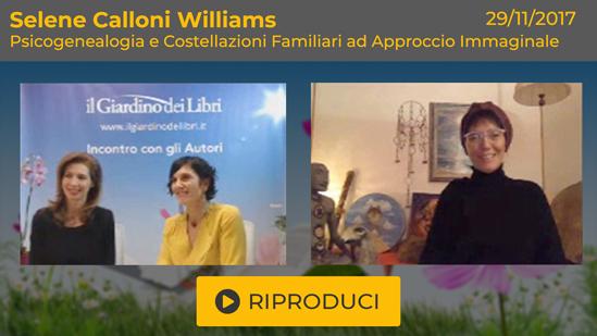 """Webinar Gratuito: """"Psicogenealogia e Costellazioni Familiari ad Approccio Immaginale"""" con Selene Calloni Williams"""