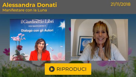 """Webinar Gratuito: """"Manifestare con la Luna"""" con Alessandra Donati"""